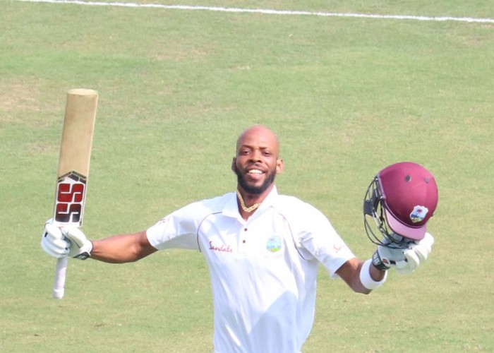 Ind vs WI 2nd Test: Roston Chase, Jason Holder propel Windies to 295/7 on day 1