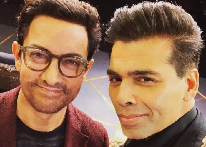 Karan Johar unveils Aamir Khan as Koffee with Karan season 6 guest