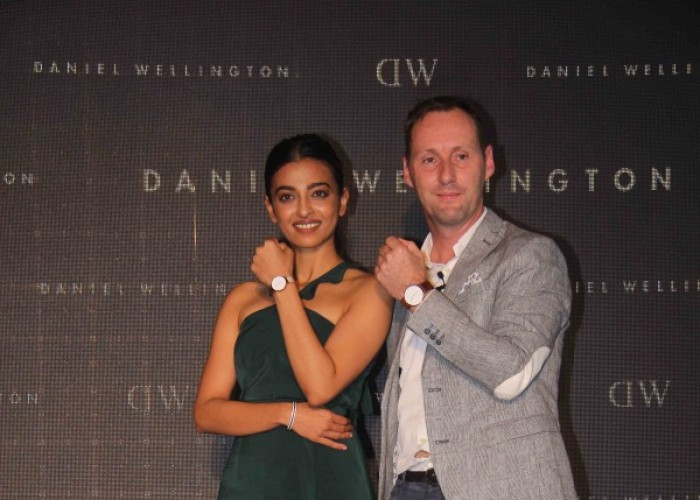 Radhika Apte unwraps new collection of Daniel Wellington watches