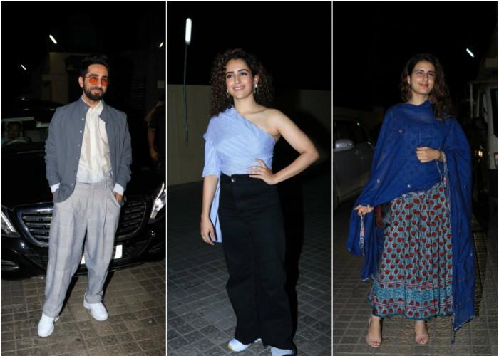 Celebs at Badhaai Ho special screening