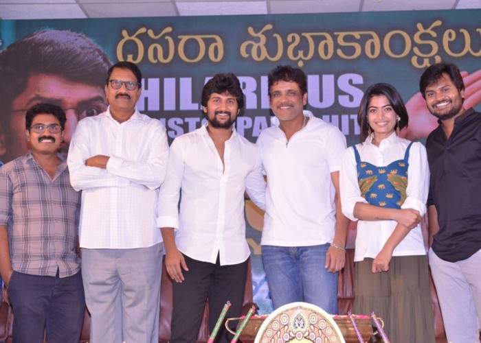 Celebs at Devadas success meet