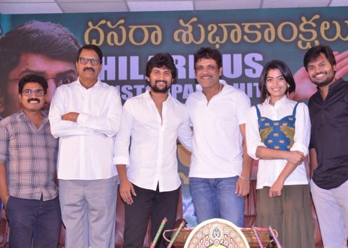 Celebs at Devadas success meet