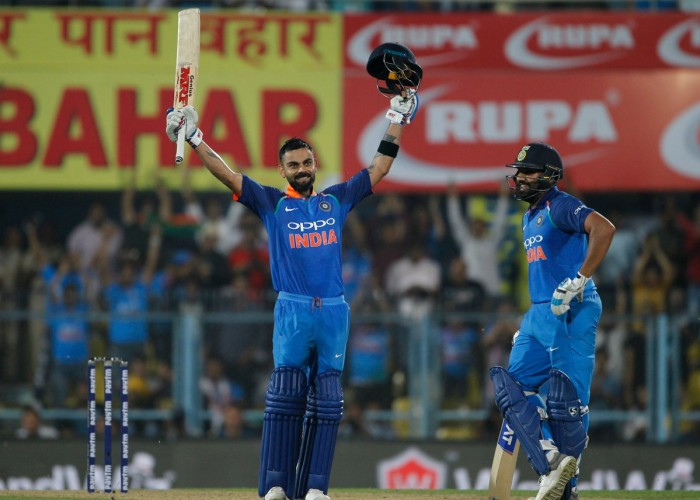 India vs West Indies: Virat Kohli, Rohit Sharma star as dominant hosts thrash Windies, go 1-0 up in ODI series