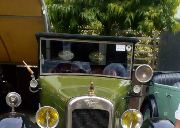 Magnificent vintage cars displayed at Statesman House in Delhi