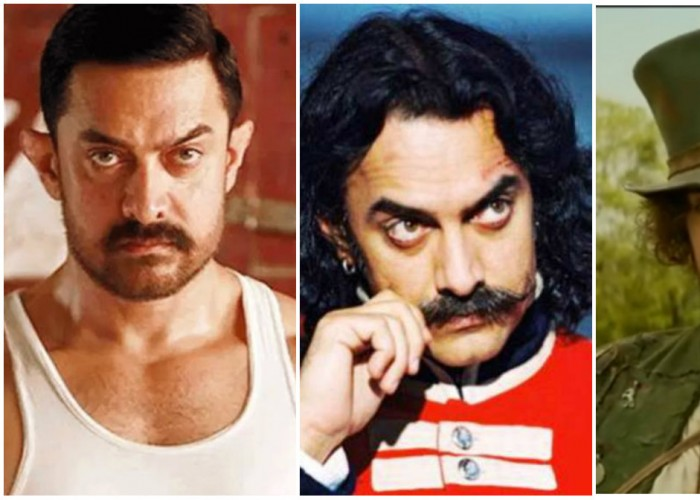 From Dangal to Thugs of Hindostan: Aamir Khan's varied looks which went viral