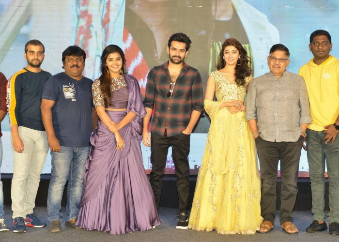 Celebs at Hello Guru Prema Kosame success meet