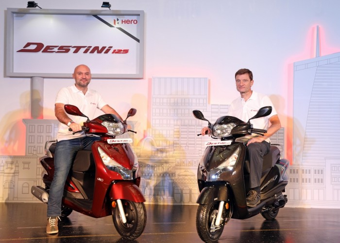 Hero MotoCorp launches Destini 125 cc scooter
