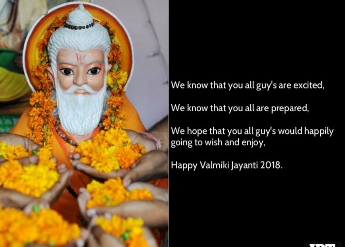 Maharishi Valmiki Jayanti 2018: Wishes, Quotes, Sayings, Slogans, Poem & Shayari to share