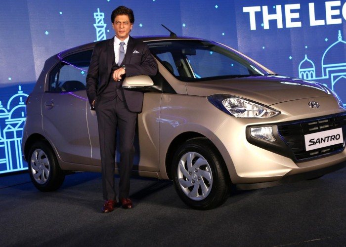 Shah Rukh Khan at Hyundai Santro 2018 launch