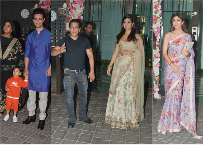Celebs at Arpita Khan's Diwali bash