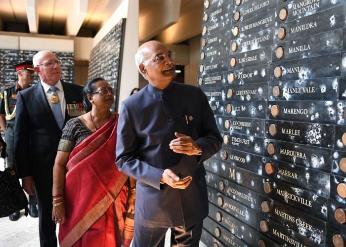 Indian President Ram Nath Kovind Visits Australia