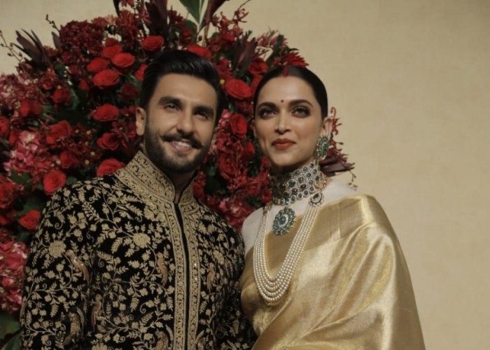 DeepVeer Reception At The Leela Palace Bengaluru