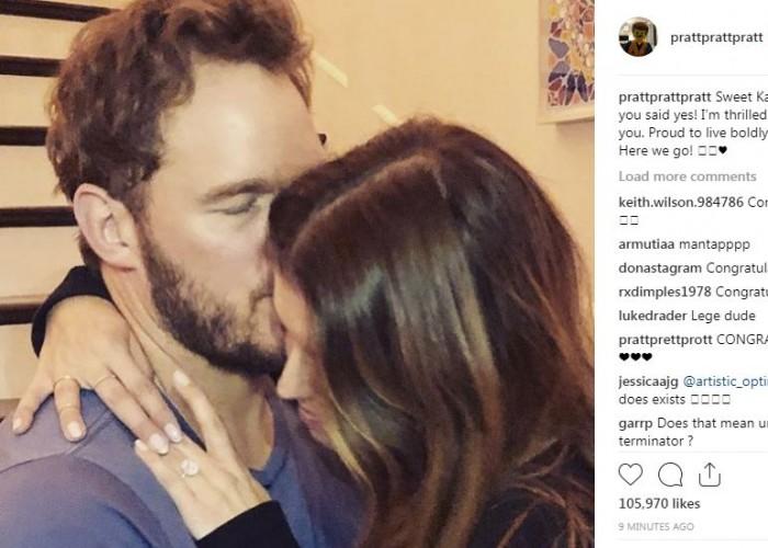 Chris Pratt and Katherine Schwarzenegger are Engaged!
