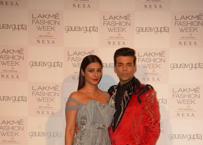 Tabu and Karan Johar brighten up the ramp at Lakme Fashion Week Summer-Resort 2019