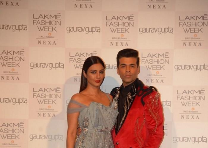 Tabu and Karan Johar brighten up the ramp at Lakme Fashion Week Summer-Resort 2019