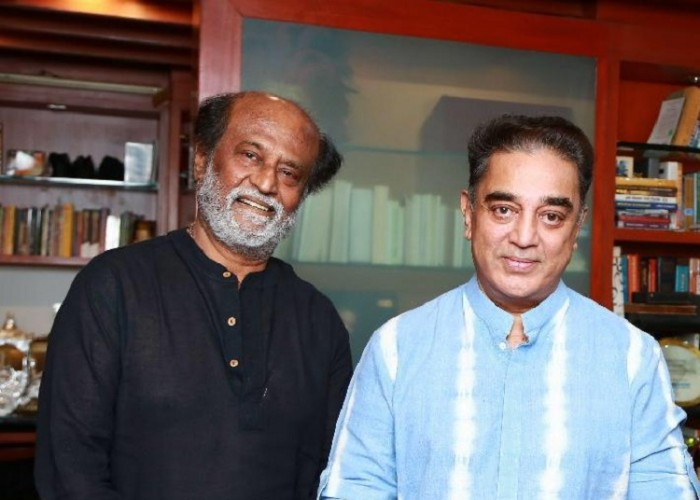 Rajinikanth Invites Kamal Haasan for his daughter Soundarya's Grand Wedding