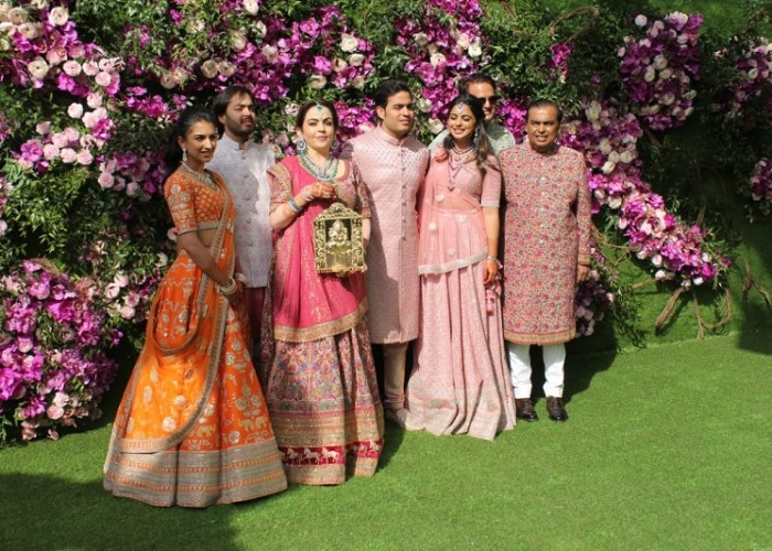 IN PICS: Akash Ambani - Shloka Mehta Wedding celebrations kick off at Jio world centre