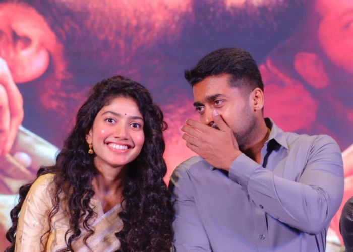 NGK Audio and Trailer Launch: Sai Pallavi with Suriya