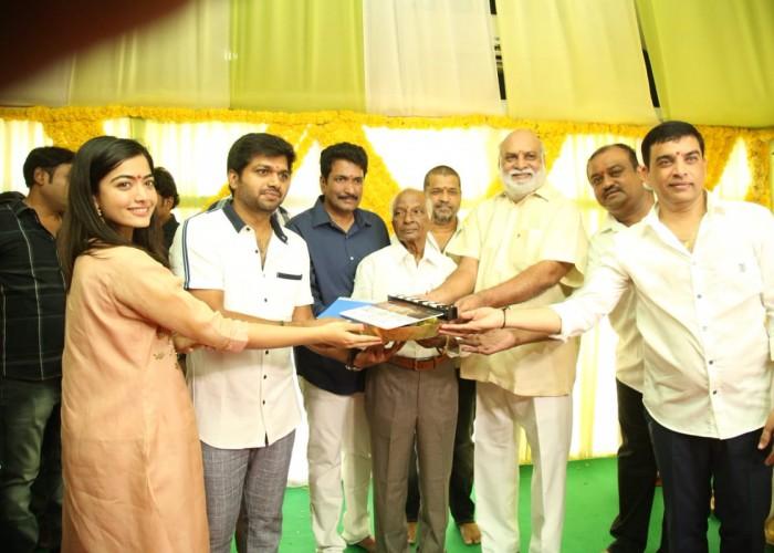 Mahesh Babu's 26th movie Sarileru Neekevvaru launch