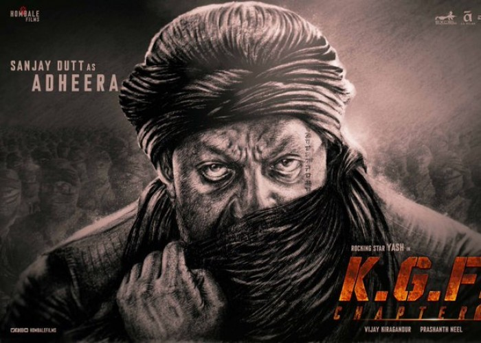 Sanjay Dutt's First Look in KGF 2