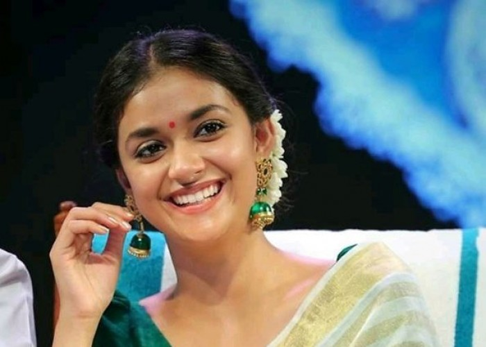 Keerthy Suresh takes part in Onam celebration