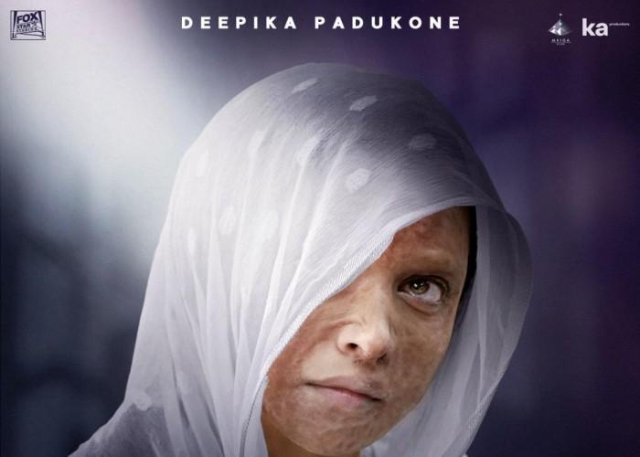 Deepika Padukone's first look in Chhapaak