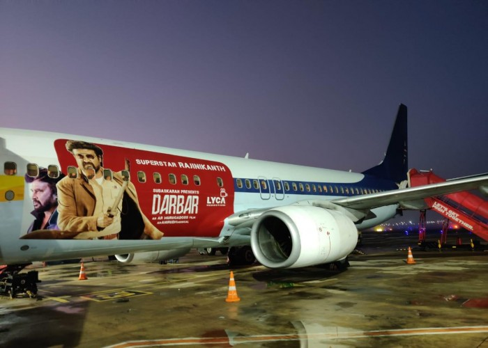 Darbar Promotions Reaches the Sky