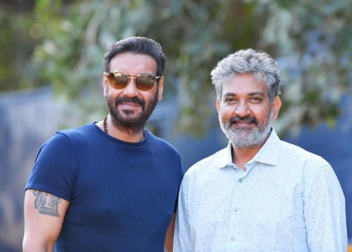 Ajay Devgn join RRR Shoot