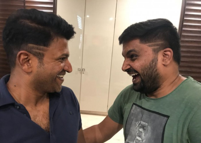 Actor Puneeth Rajkumar gets new look for Pavan Wadeyar's film.