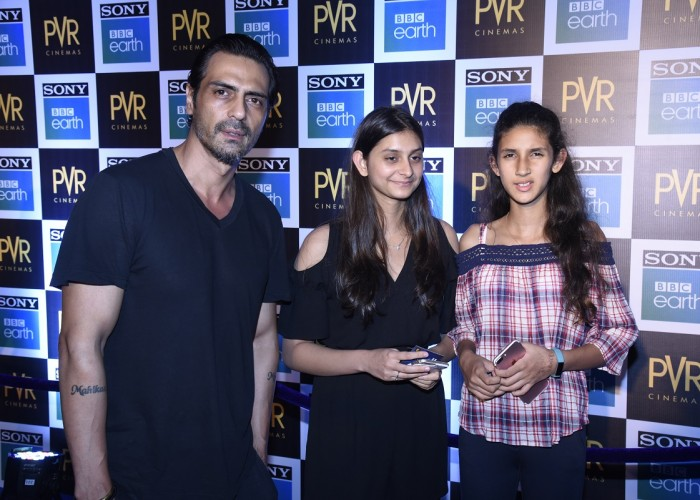 Popular faces and influencers like Arjun Rampal, Dia Mirza, Konkona Sen Sharma, Kalki Koechlin, Soha Ali Khan, R Balki, Sonali Bendre, Sumeet Vyas, Zayed Khan, Rahul Bose, Bharti Singh, Karan Singh Grover, Rithvik Dhanjani, Asha Negi, Mini Mathur, Tara Sharma, Ridhi Dogra, Kanan Gill, Mallika Dua amongst others walked the blue carpet and shared their enthusiasm and love for the ocean. All celebrity children, who were accompanied by their parents, were thrilled to be a part of the underwater world of fish, turtles and dolphins. Blue Planet II is a legendary story that gives an immersive experience into the amazing underwater world. Shot over 4 years with 125 expeditions across 39 countries, Blue Planet II is narrated by the godfather of natural history Sir David Attenborough, with music by world renowned composer Hans Zimmer. This story is a must-watch for everyone this summer with grand visuals that will take your breath away.