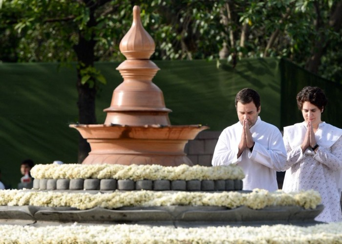 Congress President Rahul Gandhi on Monday remembered his father and former Prime Minister Rajiv Gandhi on his 27th death anniversary saying it was he who taught him to love and respect all beings. Rahul Gandhi in a tweet on Monday said: