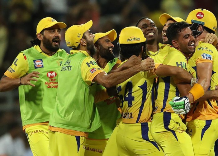 A fighting unbeaten half-century under pressure from Faf du Plessis helped Chennai Super Kings edge past Sunrisers Hyderabad by two wickets in the first qualifier here on Tuesday to enter the final of the Indian Premier League (IPL). Needing 140 runs to win, Chennai made heavy weather of what should have been a comfortable chase before crossing the line with five balls to spare. Chennai have reached the final seven times in the nine seasons they have competed in the IPL. They had missed out on the previous two seasons as they were banned following the spot fixing and betting scandal. Du Plessis batted through the innings to remain not out on 67 runs, with five hits to the fence and four sixes studding his 42-ball knock. The opener kept on playing sensibly throughout even as no other batman clicked at the other end. For Hyderabad, spinner Rashid Khan, Siddarth Kaul and Sandeep Sharma scalped two wickets each.