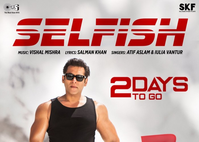 Salman Khan has added yet another feather to his cap, this time by turning lyricists for his upcoming action franchise Race 3. The actor has penned a song titled 'Selfish' for the film. The song is touted to be a soulful romantic track. Interestingly, it is heard the conception of the song was an incidental one. It was during a creative brainstorming session, where Salman penned the lyrics on a piece of paper. This lead to music composer Vishal Mishra to add tunes to Salman's soulful words. Selfish comes next in line, after Heeriye, a dance number featuring Salman Khan and Jacqueline Fernandez. Announcing the new song on social media, actor Bobby Deol said,