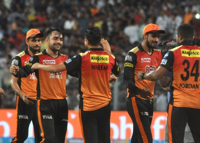 IPL 2018 Playoffs: Rashid Khan stars as Sunrisers Hyderabad beat Kolkata Knight Riders by 13 runs to enter final.