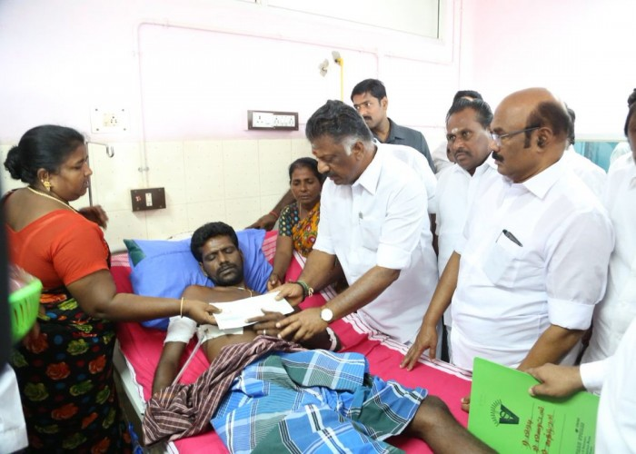 Tamil Nadu Deputy Chief Minister O. Panneerselvam on Monday said here that the government will take necessary steps to permanently shut down the copper smelter plant of Vedanta Ltd, popularly known as Sterlite Copper. Pannerselvam visited the hospital here and enquired about the health of those injured in the police firing on anti-Sterlite Copper protestors on May 22, in which 13 persons died. The Deputy Chief Minister was speaking to reporters here and he also added that compensation to the injured were being paid. Normalcy was slowly returning here with shops and other establishments opening their doors for customers. Internet connectivity has also resumed since Sunday midnight after it was suspended on May 23.