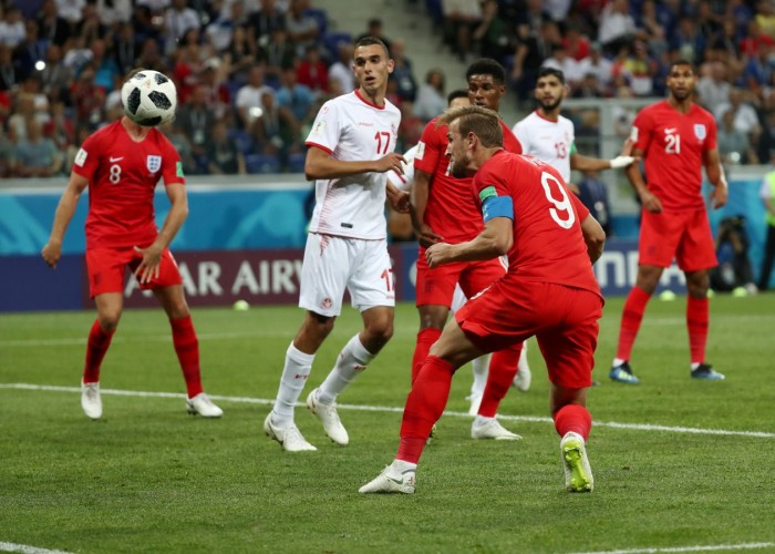 Captain Harry Kane scored a brace as England overcame Tunisia with a 2-1 victory in their FIFA World Cup Group G campaign opener at the Volgograd Arena here on Monday. The Tottenham centre-forward gave England the lead in the 11th minute but Ferjani Sassi converted a penalty to pull Tunisia level in the 35th minute. However, Kane headed home off a corner in the 90+1st minute to give England the winning goal. The North African side had survived an early onslaught and punched above their weight to counter a talented and youthful English team, playing in a 3-4-2-1 formation. Towards the end, Tunisia thought a draw was a fair result and decided to keep it that way until Kane brought out his second strike in the second-half injury time. England kept it late to seal the win but their overwhelming start nearly blew Tunisia away. England were all over Tunisia, beginning the match in an emphatic manner.