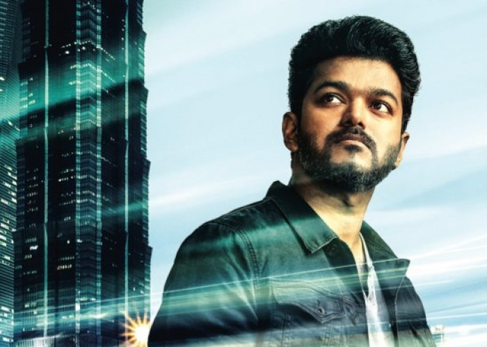 Here is the Third Look of SARKAR poster
