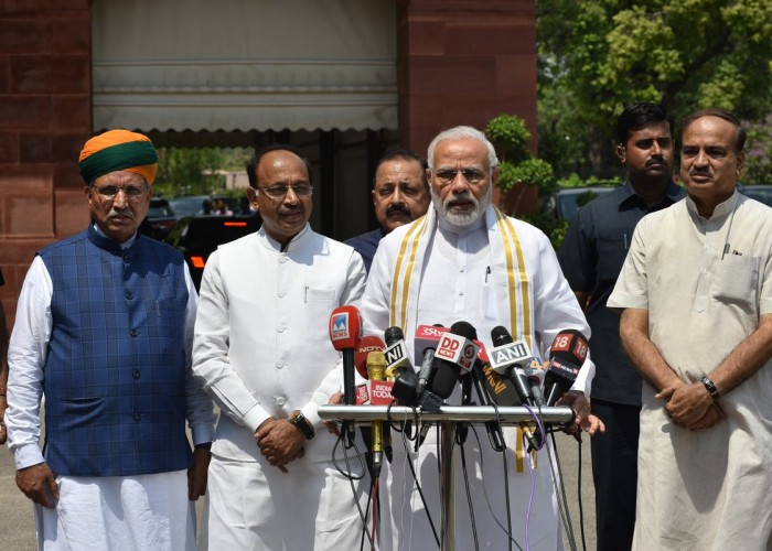 Ahead of the first day of Monsoon Session of Parliament, Prime Minister Narendra Modi urged all the political leaders to allow the session function smoothly. The Prime Minister said that the Centre is ready to discuss all the issues that all the parties will raise in Parliament.