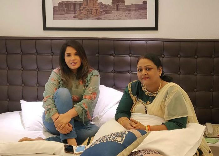 Richa Chadda meets Shakila over biopic