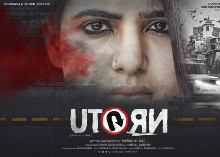 Samantha's U Turn first look poster
