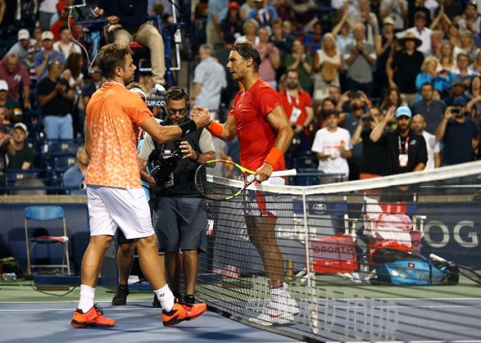 Rafael Nadal eliminates Stan Wawrinka