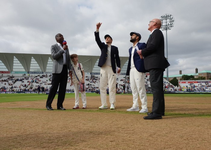 Ind vs Eng 3rd Test: England wins the toss and elects to bowl first.