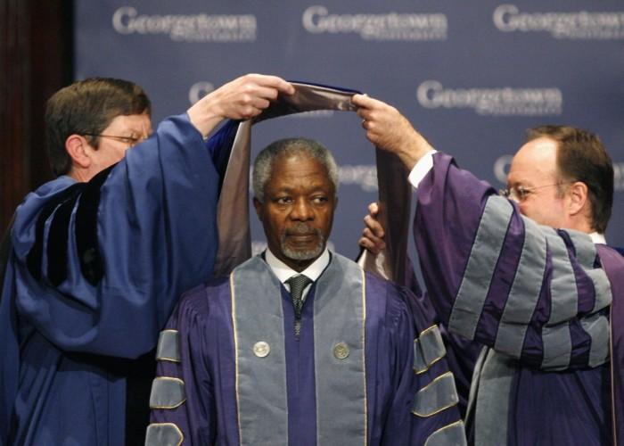 Former UN Secretary Kofi Annan dies at 80