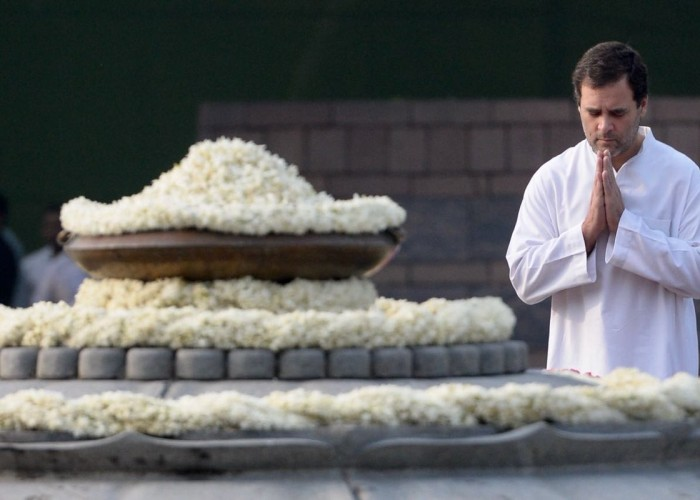 Rahul Gandhi paid tributes to former Prime Minister Rajiv Gandhi