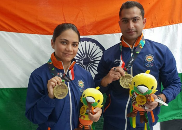 Asian Games 2018: Shooters Apurvi Chandela and Ravi Kumar win India's first medal