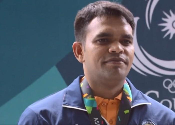 Deepak Kumar strikes silver in 10m Air Rifle