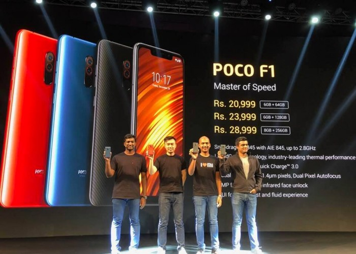 Xiaomi debuts POCO sub-brand in India with F1 smartphone