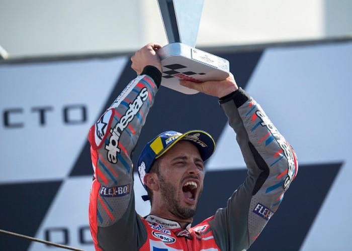Andrea Dovizioso wins San Marino MotoGP
