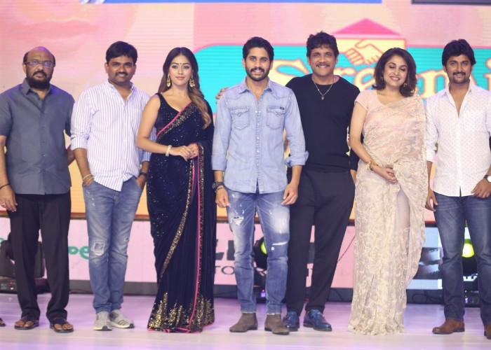 Celebs at Shailaja Reddy Alludu pre-release event