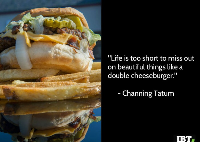 National Cheeseburger Day 2018 quotes